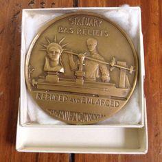 Medallic Art Co Bronze Medal Vintage Salesman Sample Coin NYC Advertising #medallicartco #bronze #bronzemedal #vintagemedal #antiquemedal #nyc #americana #samplecoin #coin #bronzecoin #vintage #collectible #advertising #salesman