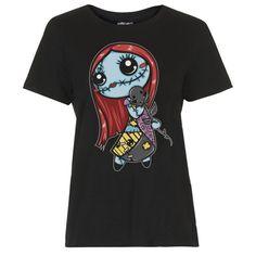 """T-shirt Gothique Dark World """"Sally"""""""