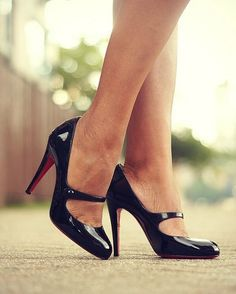 Christian Louboutin MaryJanes. What I would do for these!!?? IN LOVE!! #fashionista #christianlouboutin