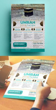 #Umrah #Flyer 02 - Commerce Flyers