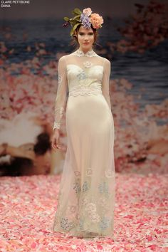 Style Unveiled - Style Unveiled | A Wedding Blog - Diana by Claire Pettibone from the An Earthly ParadiseCollection