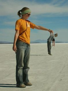 The Salt Flats of Bolivia