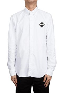 F.C.R.B Coolmax Denim B.D Shirt White #FCRB #FCREALBRISTOL #SS16 #SURRENDERSTORE #SURRENDEROUS