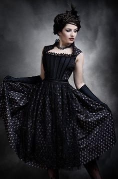 """Dirndl """"Avril"""", available at my Online Shop for EUR 629: http://sonjafellner.com/shop/all/avril/"""