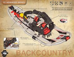 (WINTER 2013) Yukon Charlie's Advanced Series All-Terrain Snowshoes - Best snowshoes for backcountry or recreational use.  #Winter #Snowshoeing #GetOutside #WinterHiking