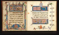 The Prato Haggadah.  See http://www.cojs.org/ for more Jewish treasures!