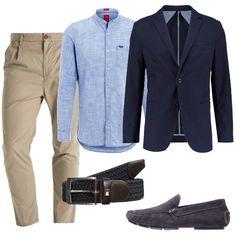 Meeting con i clienti  outfit uomo Business Elegante per ufficio e serata  speciale 92412220bbc
