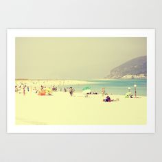 Buy beach by Ingz as a high quality Art Print. Worldwide shipping available at Society6.com. Just one of millions of products available.