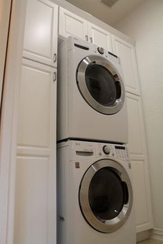 "Find out more details on ""laundry room stackable washer and dryer"". Check out ou… – Laundry Room Pantry Laundry Room, Laundry Room Remodel, Small Laundry Rooms, Laundry Room Organization, Laundry Room Design, Laundry Cabinets, Basement Laundry, Diy Cabinets, Stackable Washer And Dryer"