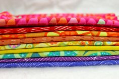 Diary of a Quilter - a quilt blog: Saturated Rainbow Fat Quarter Bundle giveaway