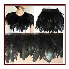 f58aadeab6 AB Color Feather Boa DIY Wrap Cape Shawl Poncho Skirt Stole-50cm Top 10  Halloween