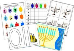 A Jewish Homeschool Blog: Some more Chanukah Printables and Ideas to keep Toddlers busy