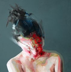 Modern art by Simon Birch Simon Birch, Art And Illustration, Illustrations, Abstract Portrait, Portrait Art, Painting Portraits, Figure Painting, Painting & Drawing, Painting Styles