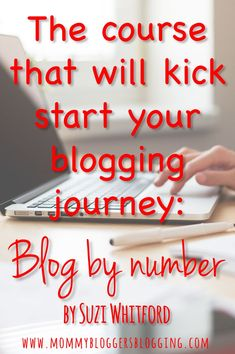 Suzi Whitford created this course with moms like you and I in mind, but blog by number is helpful for anyone starting a blog. Make Money Blogging, How To Make Money, Blogging Ideas, Blog Websites, Online Work, Blogging For Beginners, Mom Blogs, Social Media Tips, Blog Tips