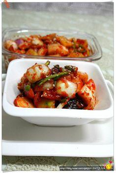 아삭하고 달큰한 양파김치 수박껍질과양파로 담은 양파김치^*^ – 레시피 | Daum 요리