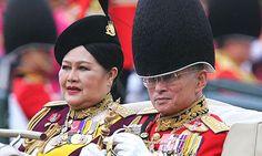 Thailand's King Bhumibol Adulyadej and Queen Sirikit