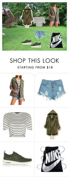 """""""Bez naslova #10"""" by mersida-1 ❤ liked on Polyvore featuring Charlotte Russe, WithChic, Alexander Wang and NIKE"""