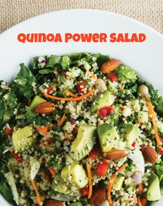 Power salad and Salads on Pinterest