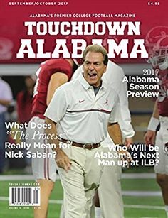 Touchdown Alabama: Touchdown Alabama is the leader in all thing Alabama Football. -recruiting updates (interviews with recruits, analysis) br-game day and practice updats br-interviews with player and coaches br-breaking news. Crimson Tide Football, Alabama Football, Alabama Crimson Tide, Football Fans, College Football, Nick Saban, University Of Alabama, Man Up, Roll Tide
