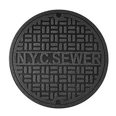 Nyc Sewer Manhole Cover Mat Birthday Tmnt Ninja