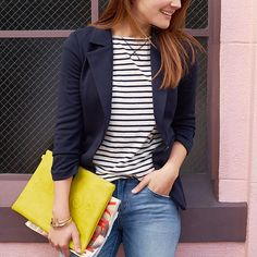 Finally, the perfect blazer! Tell your Stylist you'd love the Benson—our beloved blazer that classes up any ensemble. by stitchfix