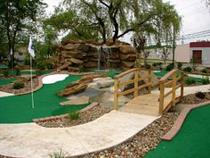 USA Miniature golf course builder, high quality mini golf ...