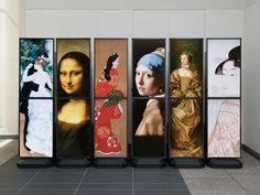"Dai Nippon Printing Co Ltd (DNP) will release the ""Tall Vision,"" digital signage equipmen..."