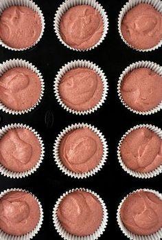 Cupcakes de morango