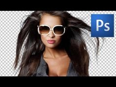 How to Mask Hair in Photoshop - this method uses color channels to create a mask
