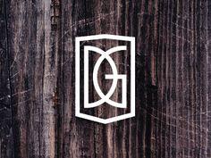 Creative Logo, Logos, Dg, and Monogram image ideas & inspiration on Designspiration Monogram Design, Monogram Logo, Logo Monogramme, Typographic Logo, Wedding Logos, Logo Images, Creative Logo, Bid Day, Cool Logo