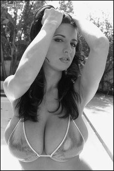 Jana Defi - shimmer bikini - outdoors
