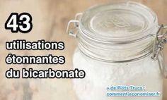 utilisation bicarbonate de soude : Découvrez les 43 utilisations du bicarbonate de soude.
