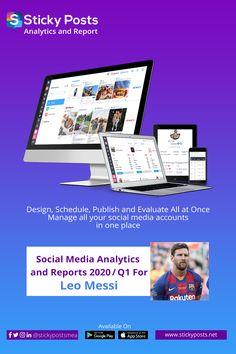 Sticky Posts provides Social Media Analytics and Reports for Luis Suarez Social Media Analytics, Artificial Intelligence Technology, Leo, Football, Posts, Messi, Soccer, Futbol, Messages