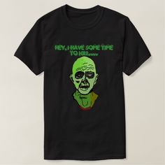 Time to kill Zombie T-Shirt (dark)