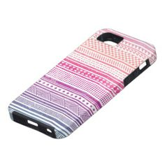 Vintage Aztec Tribal Andes Pattern iPhone 5 Covers
