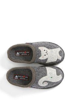 KITTY SLIPPERS!!!!  Haflinger 'Cat' Slipper | Nordstrom
