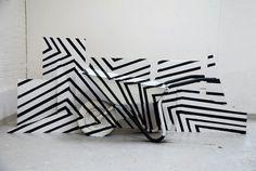 """weissesrauschen: """"  6 real dazzle camouflage aka format von Alexandra Reimann """""""