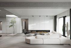 The Best 2019 Interior Design Trends - Interior Design Ideas Home Room Design, Home Interior Design, Living Room Designs, House Design, Lobby Interior, Living Room Interior, D House, House Rooms, Home Ceiling