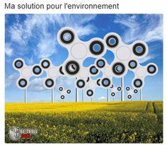 Hand Spinner pour l'environnement ! - Be-troll - vidéos humour, actualité insolite