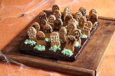 Halloween Recipe: Graveyard Brownies