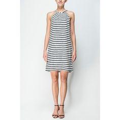 Basic Stripes Beach Dress