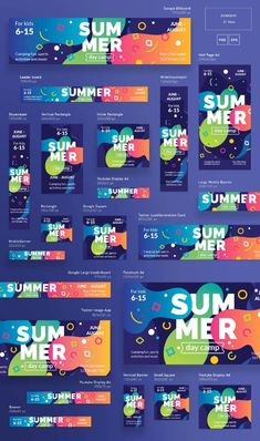 A new series of products for effective presentation and promotion of your brand or business. Enjoy a huge collection of products – headers,… Banner Design Inspiration, Web Banner Design, Web Design, Flyer Design, Layout Design, Banner Instagram, Brochure Design, Branding Design, Mobile Banner
