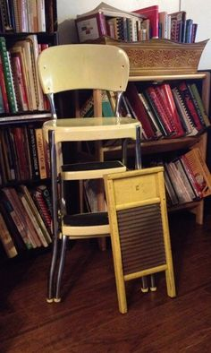 Mid-Century Love Yellow cosco stool How To Choose A Dishwasher Basically dishwashers all perform the Vintage Stool, Low End, Dishwasher Detergent, Washing Dishes, Kitchen Stools, Mid Century, Dishwashers, Yellow, Club