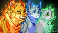 Roaring Lion, Sharp-eyed Jay and Gentle Dove by Silverzoul