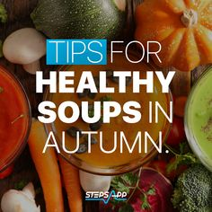 Warm yourself up with a yummy bowl of autumn soup. 🍲😋 🌿#StepsApp #health #healthy #fitness #autumn #food #healthyfood #fluseason #cold #coldweather #stepcounting #fit #fitfam #training #cooking #recipes Healthy Soup, Healthy Recipes, Cooking Recipes, Flu Season, Autumn Soup, Training, Cold, Warm, Fitness
