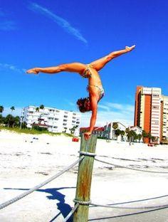 Perfect gymnastics photo