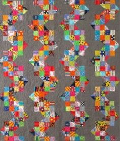 May - The Cotton Patch Sewing and Quilting Store- Zig zag quilt by Freddy Moran
