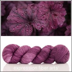 Expression Fiber Arts, Inc. - HEUCHERA YAK SILK LACE YARN, $39.00 (http://www.expressionfiberarts.com/products/heuchera-yak-silk-lace-yarn.html)