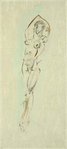 Salvador Dali, Petites Nus d'Apollinaire - Plate No. 5, Hand Colored Etching on Paper, Limited Edition