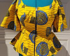 Latest African Fashion Dresses, African Dresses For Women, African Print Dresses, African Print Dress Designs, African Print Fashion, Africa Fashion, African Attire, Ankara Fashion, African Lace Styles